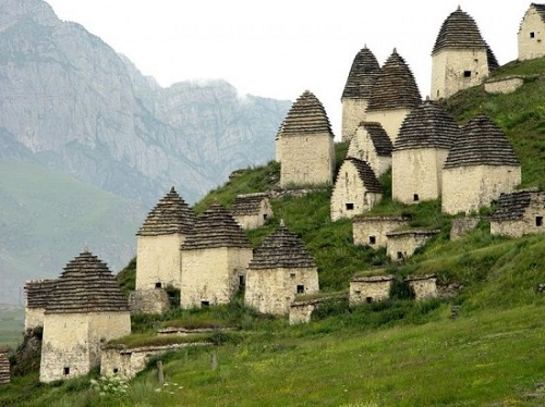 North Ossetia Dargavs City of the Dead