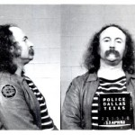 David Crosby, Dallas, 1982. After appearing in criminal courts facing several drugs and weapons charges, Crosby spent nine months in Texas prisons. The drug charges stemmed from charges related to possession of heroin and cocaine