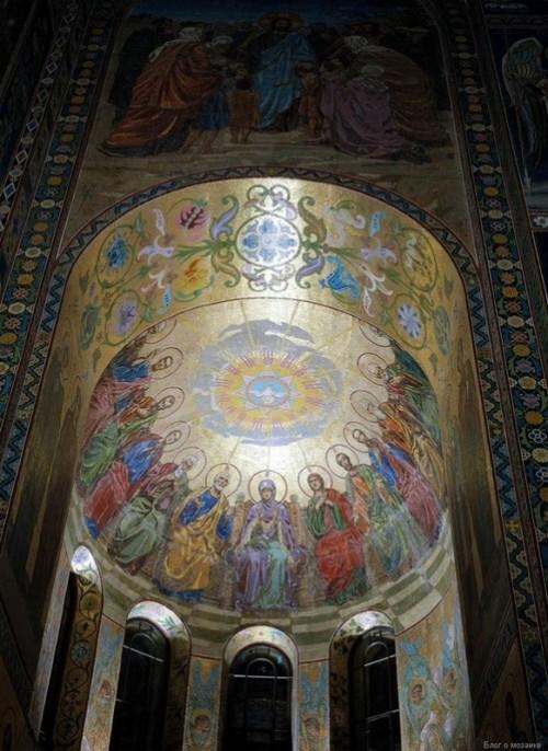 Descent of the Holy Spirit upon the apostles (the artist V. Belyaev)