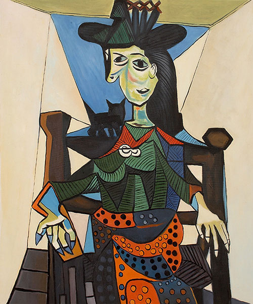 Dora Maar au Chat by Pablo Picasso. Most Expensive sold Paintings