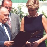 During her stay in Moscow, Diana received the international Leonardo Prize given to important sponsors of charity and entrepreneurs in the fields of art, medical care and sport