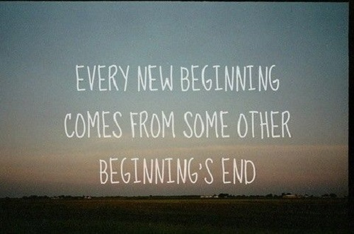 Every new beginning