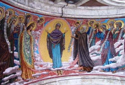 Exaltation of the Cross (the artist V. Belyaev)
