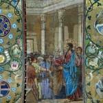 Expulsion of merchants from the temple (the artist V. Pavlov)