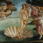 'The Birth of Venus', painting by Sandro Botticelli