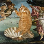 One of the highest aesthetic creations of the Florentine painter, as well as a universal ideal of female beauty, 'The Birth of Venus', painting by Sandro Botticelli