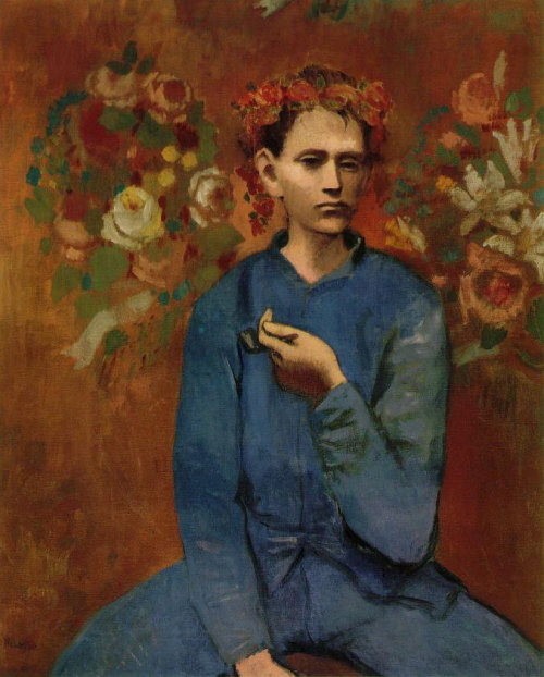 Garcon a la pipe (Boy with a Pipe) by Pablo Picasso. Most Expensive sold Paintings