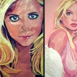 Bubblegum portraits created by Canadian artist Jason Kronenwald