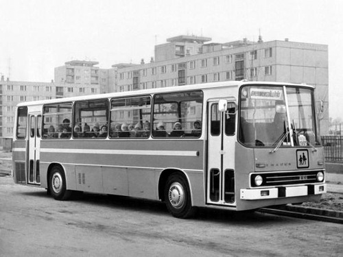 Ikarus 255 Omnibus fur Kinder (1972)