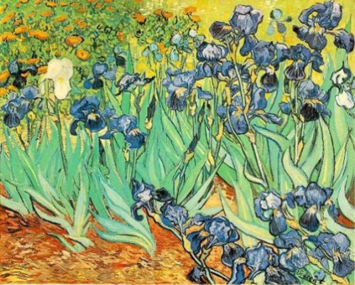 Irises by Vincent Van Gogh. Most Expensive sold Paintings