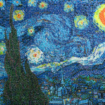 Jelly beans Starry night