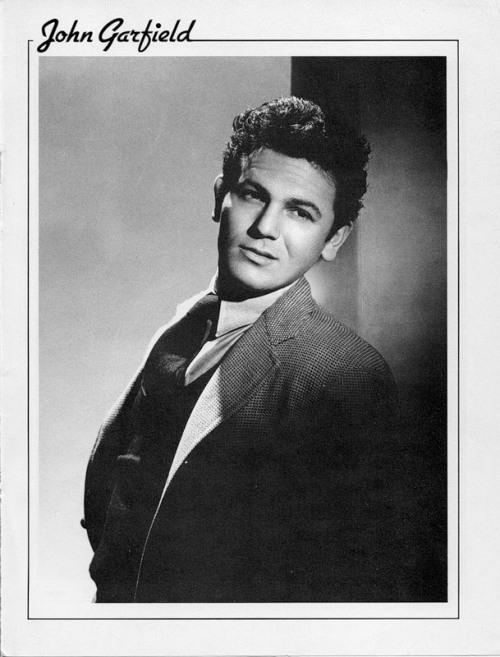 Hollywood Walk Of Fame. John Garfield (March 4, 1913 – May 21, 1952)