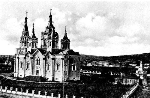 Krasnoyarsk, Siberia, Russia (old photo)