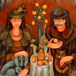 Decorative Painting by Russian artist Marina Hintse