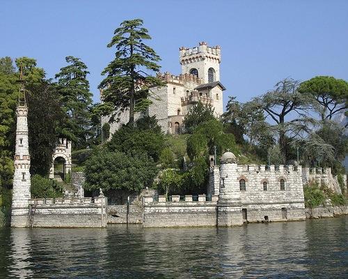 Castle on the island Loreto