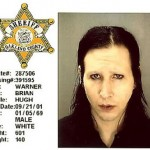 Brian Hugh Warner (aka Marilyn Manson), charged with criminal sexual conduct after doing the grind on the head of a security guard during a July 2001 concert in suburban Detroit