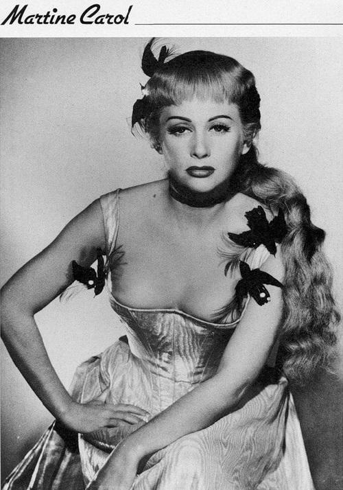 Martine Carol Hollywood Walk Of Fame