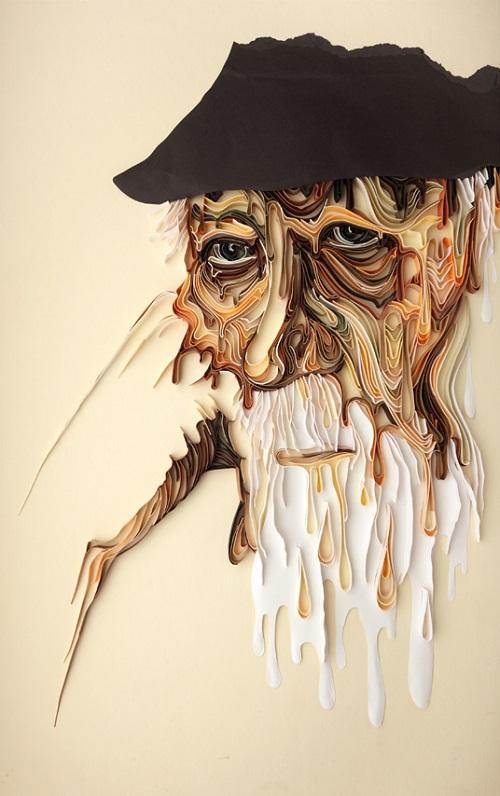Art of paper by Julia Brodskaya