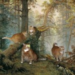'Morning in a Pine Forest' – painting by Russian artist Ivan Shishkin