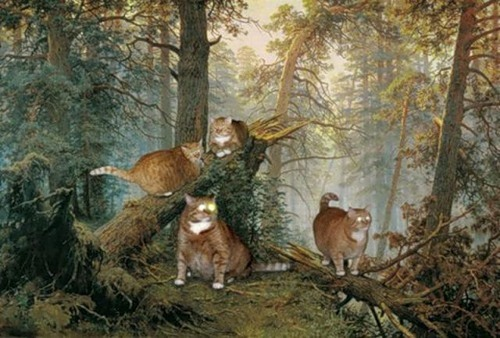 'Morning in a Pine Forest' - painting by Russian artist Ivan Shishkin