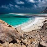 Beach of Socotra island