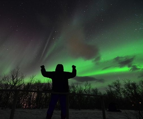 spectacular northern lights