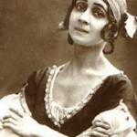 In the role of Giselle, Olga Spessivtseva