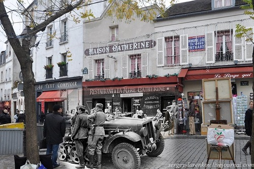 Paris Back to the Past