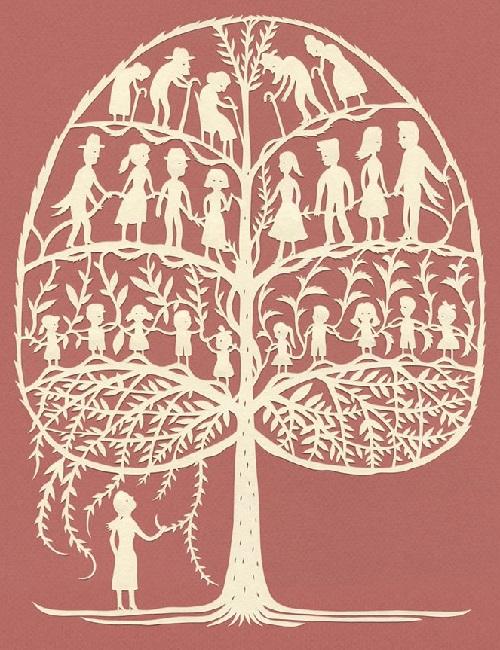 Paper art by American artist Elsa Mora