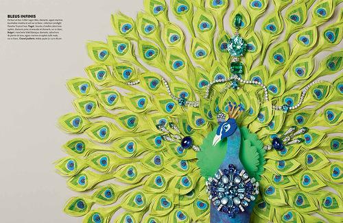 Paper art by Jo Lynn Alcorn