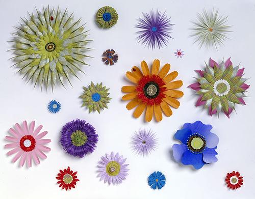 Paper art by American artist Jo Lynn Alcorn