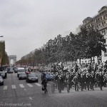De Gaulle led the parade in honor of the liberation of the city – Paris, 2010