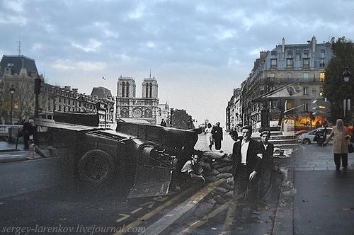 Paris, 1944. Paris uprising