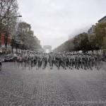 U.S. Marines on the Champs Elysees – Paris, 2010