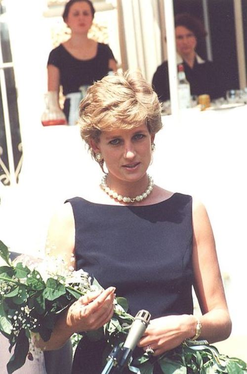 Princess Diana in Moscow