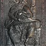 Psaltery player
