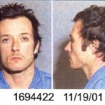 The lead singer of Stone Temple Pilots and Velvet Revolver, Scott Weiland, arrested in November 2001 and charged with battering his wife