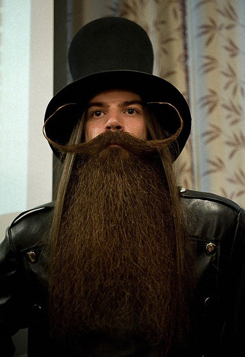 The 2011 World Beard Mustache Championship in Trondheim, Norway