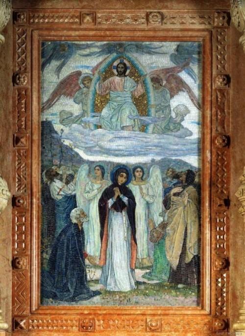 The Ascension of Christ (artist Mikhail Nesterov)