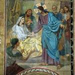 The Raising of Jairus' daughter (the artist FS Zhuravlev)