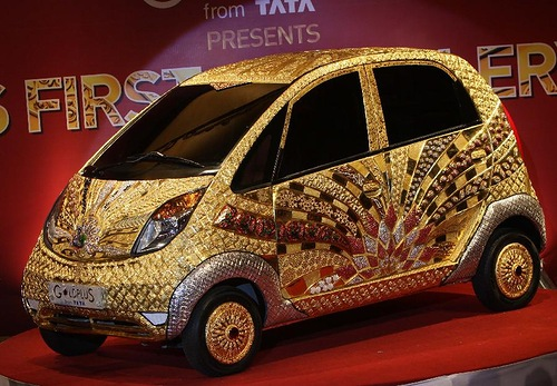 The World's first jewellery car of Gold