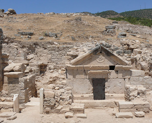 Archaeological Discoveries of 2011. Tomb of Jesus' Apostle Philip Discovered