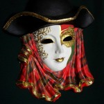Beautiful Venice Carnival Mask