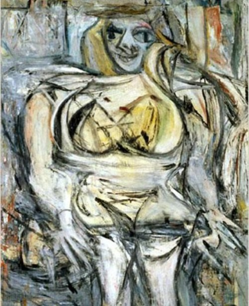 Woman III by Willem de Kooning. Most Expensive sold Paintings