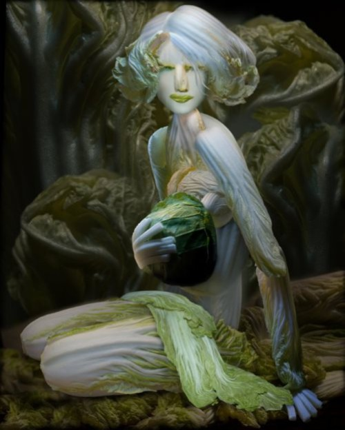 'Fantasies of Chinese cabbage' by Chinese artist Ju Duoqi