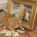 great art to great cats, and big money of course