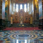 Stunning interior decoration of the church