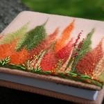 Beautiful thread art by Latvian artist of applied art Indra
