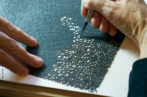 Paper cut by Beth White