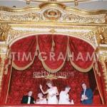 visiting the Bolshoi Theatre. Ballet 'Les Sylphides', June 15, 1995